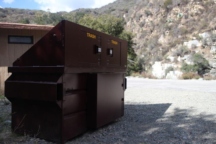 New dumpster