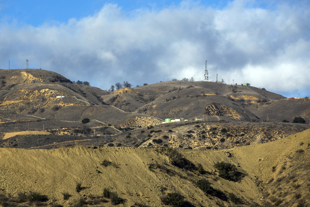 SoCal Gas' Aliso Canyon Storage Facility near Porter Ranch.