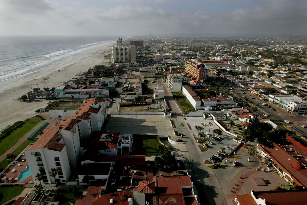 ROSARITO, MEXICO - APRIL 1:  View of April 1, 2009 in Rosarito, Mexico.