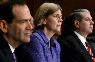 Elizabeth Warren is Chair of the Congressional Oversight Panel trying to prevent another housing market crash
