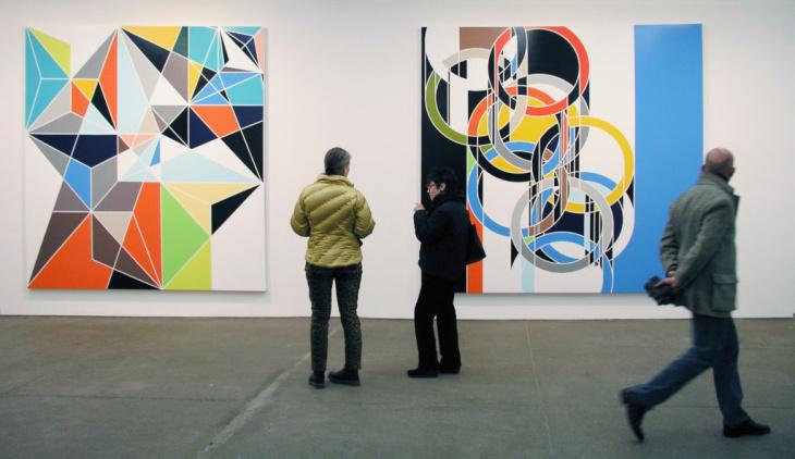Sarah Morris Paintings
