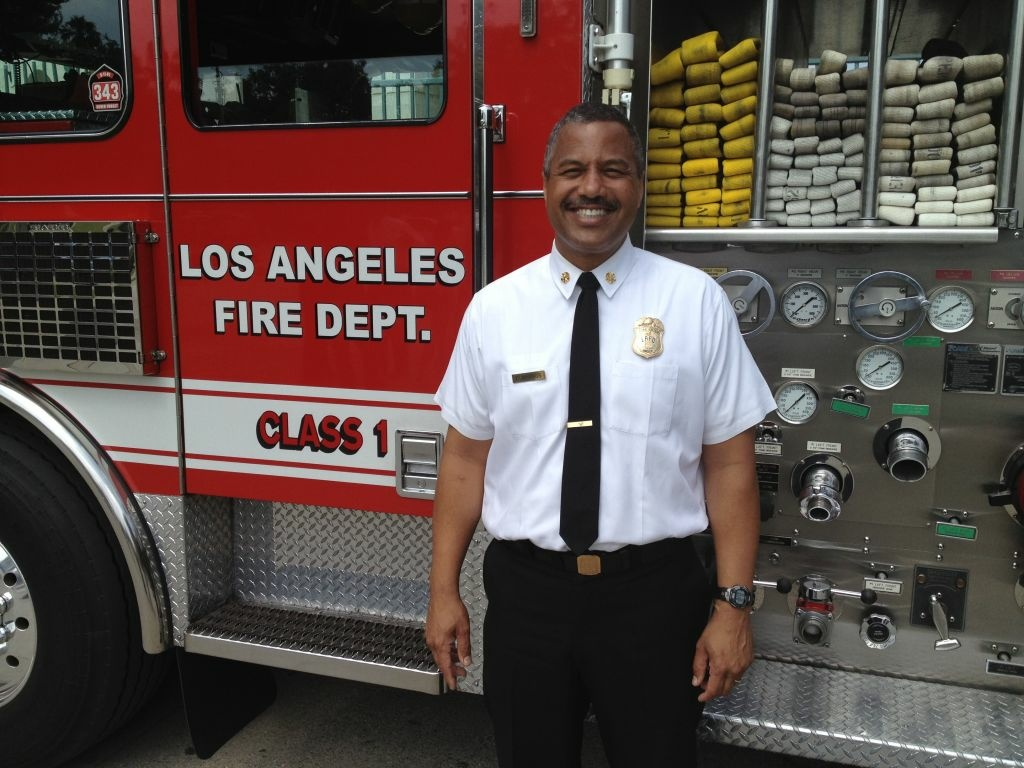 LAFD Chief Brian Cummings will resign his position effective Nov. 1 and officially retire in February, according to the mayor's office.
