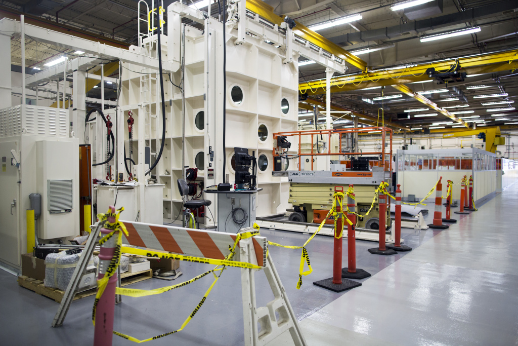 Aerojet Rocketdyne has a 100,000 square-foot manufacturing facility in Canoga Park. Los Angeles still has more manufacturing workers than anywhere in the country.