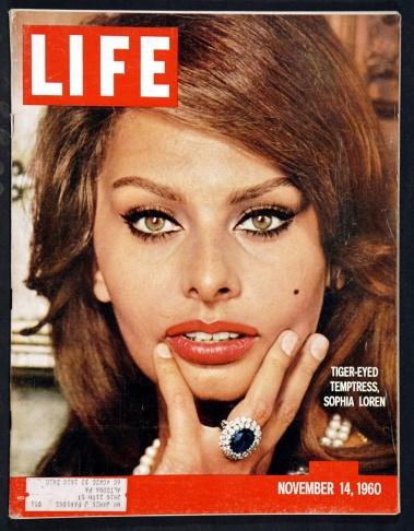 54 years later, Sophia Loren still has an appetite for life.