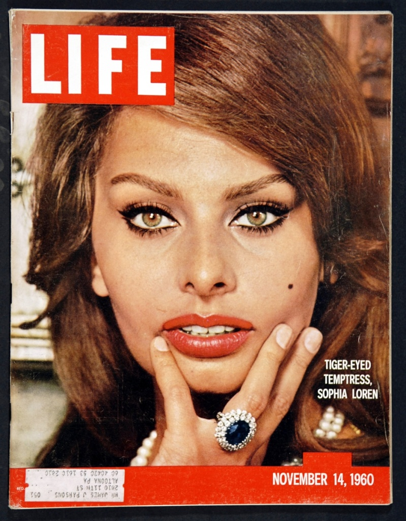 54 years later, Sophia Loren still has an appetite for life.
