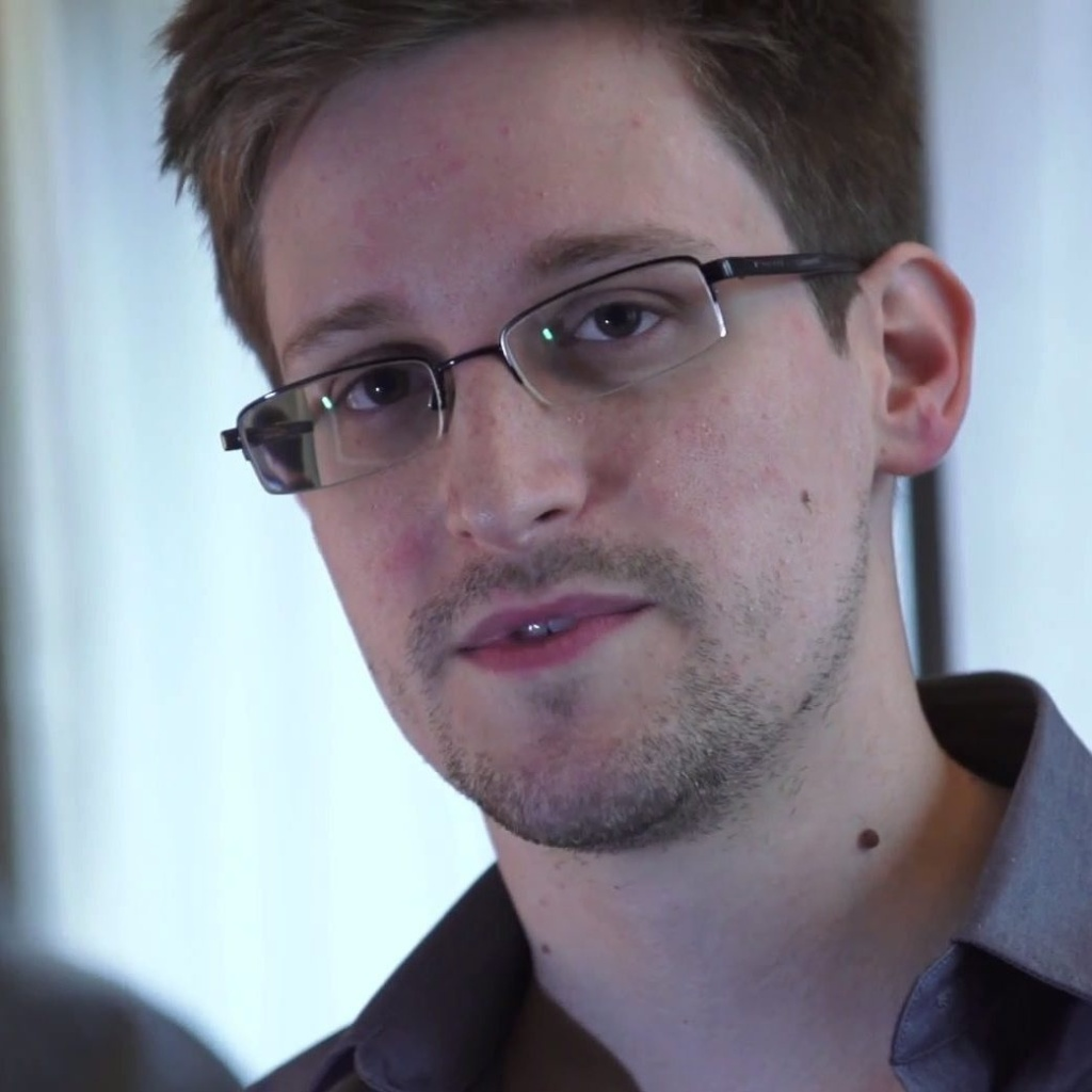 File photo: Edward Snowden, seen during a video interview with The Guardian.
