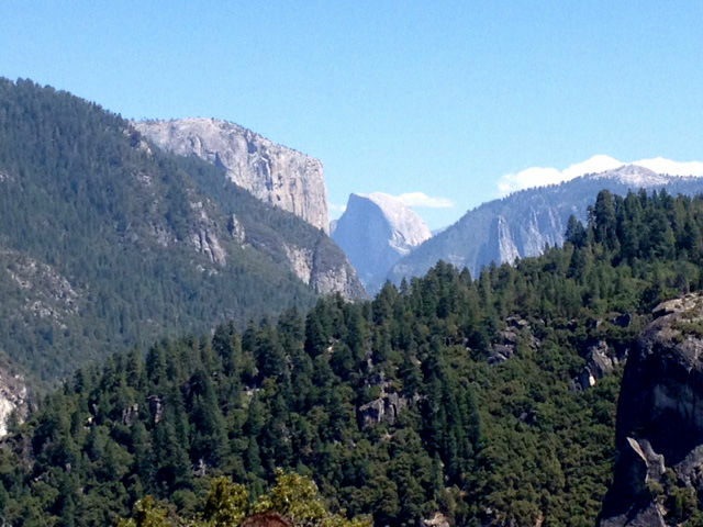 The hantavirus outbreak did little to quash the beauty of Yosemite, made more beautiful on Labor Day weekend by lighter crowds.