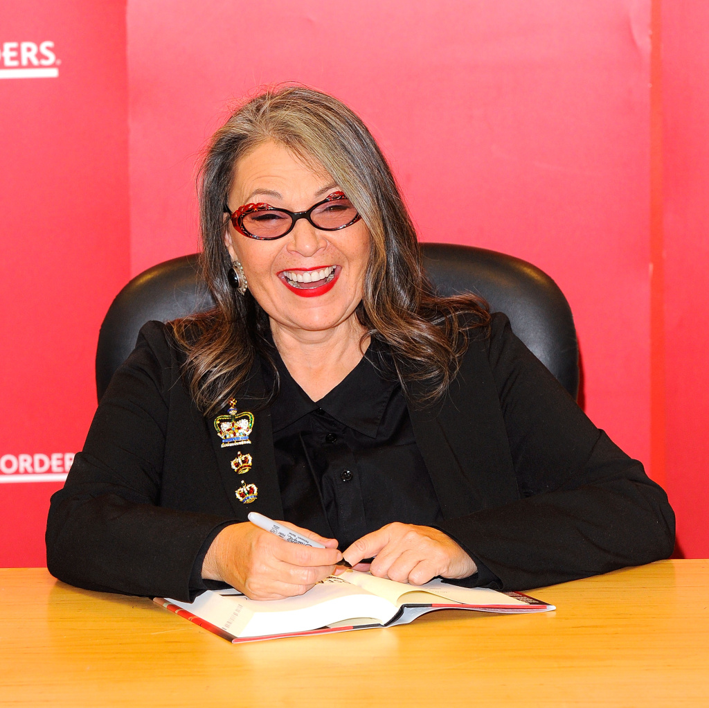 Roseanne Barr at Borders Columbus Circle on January 6, 2011 in New York City.