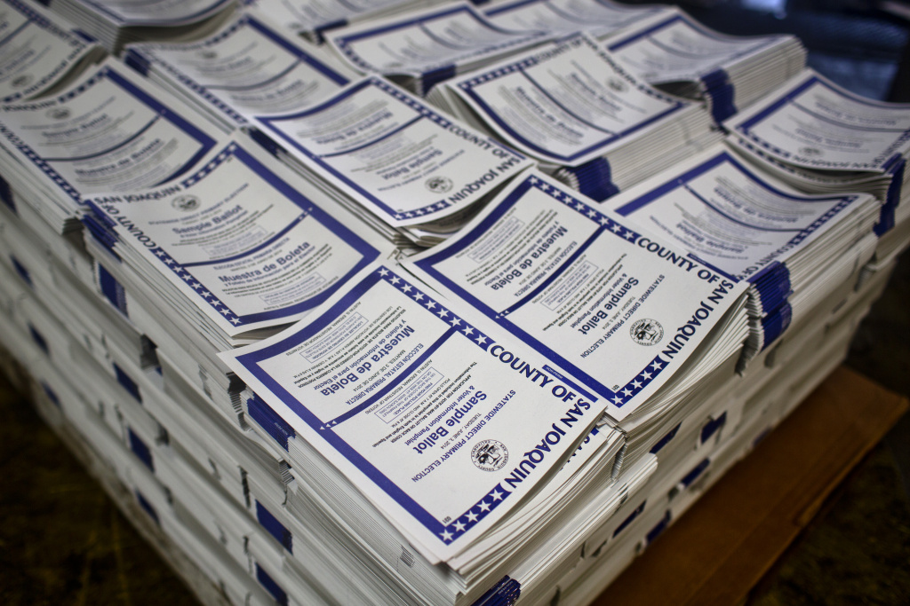 KPCC looks at the cost of printing thousands of sample ballots every election cycle.