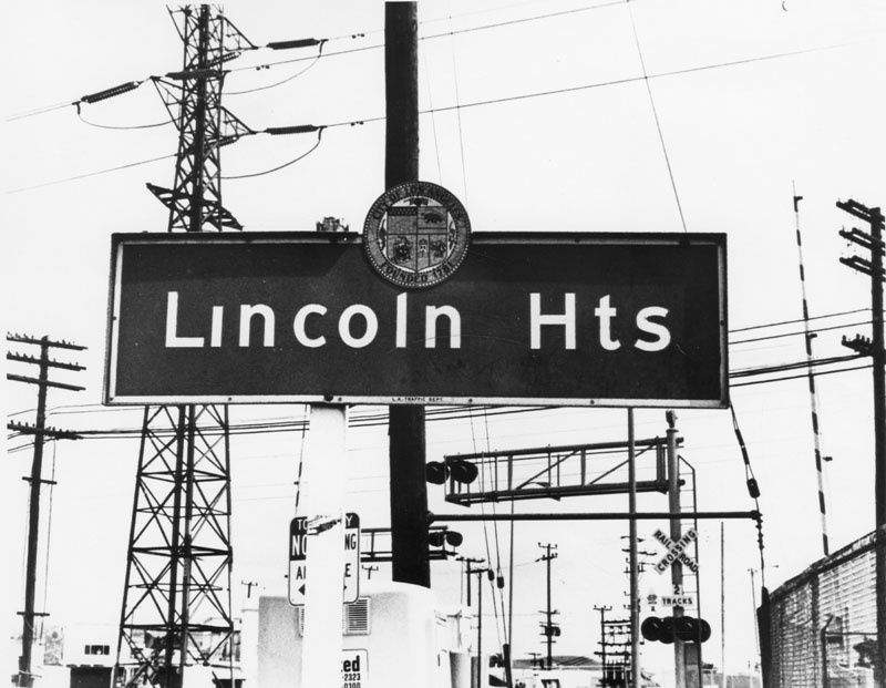Lincoln Heights circa 1980. Today, the neighborhood where a top Confederate general once lived is called Lincoln Heights. In 1917, residents voted unanimously to change the name from