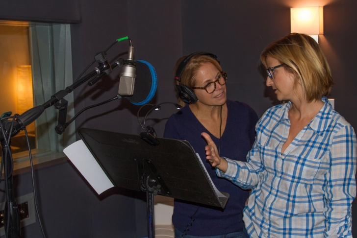 Katie Couric, left, and Stephanie Soechtig have collaborated on the documentary,