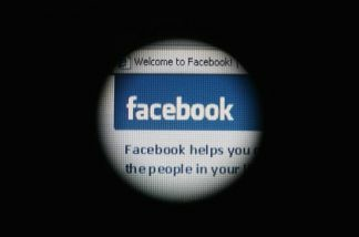 Facebook is displayed on a laptop screen on March 25, 2009 in London, England.