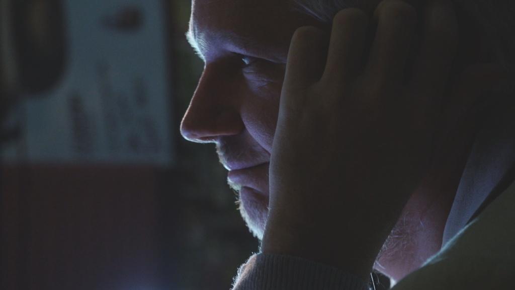 WikiLeak's editor-in-chief Julian Assange in 'Risk.'
