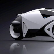 Tron Light Cycle concept