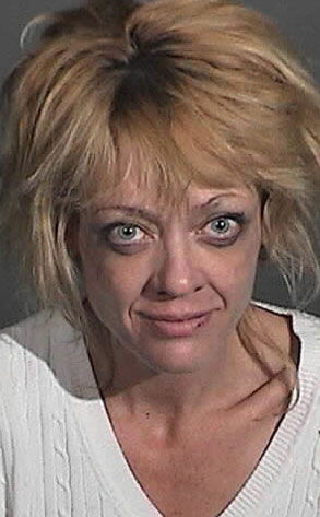 This mugshot of actress Lisa Robin Kelly garnered lots of attention.