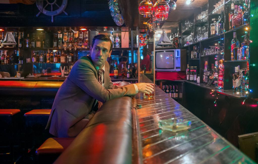 Jon Hamm stars as Mason Skiles in director Brad Anderson's BEIRUT, a Bleecker Street release.