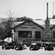 BEFORE THE FIRE: An undated photo of the Summit Inn in the Cajon Pass, a haven for hotrodders.