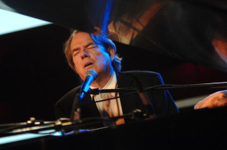 Musician Jimmy Webb onstage at the ASCAP Tribeca Music Lounge held at the Canal Room during the 2007 Tribeca Film Festival on May 1, 2007 in New York City.