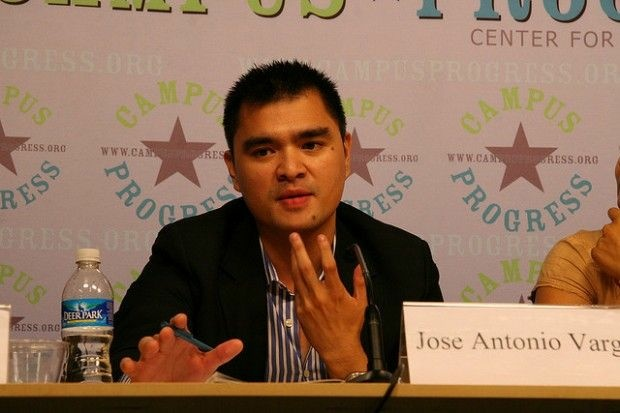 Jose Antonio Vargas during a panel appearance in July 2008, the year he and other Washington Post reporters shared a Pulitzer for coverage of the Virginia Tech shooting.