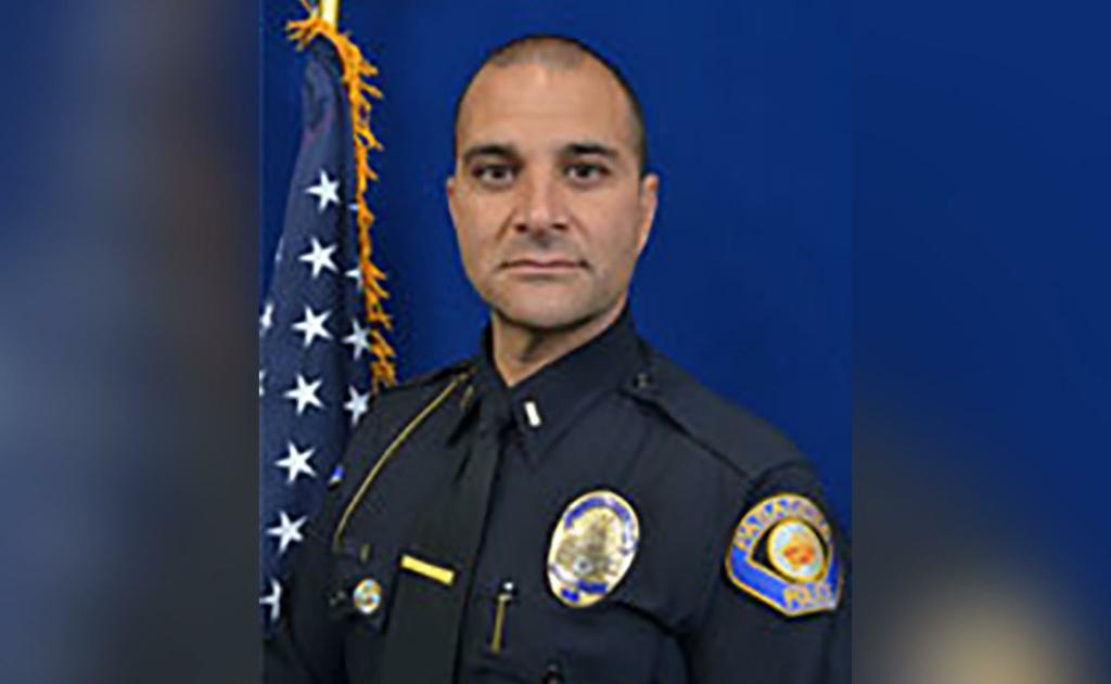 Former Pasadena Police Department spokesman Lt. Vasken Gourdikian.
