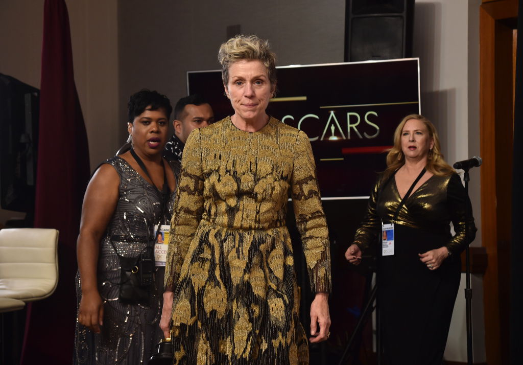 Frances McDormand won best actress for her role in