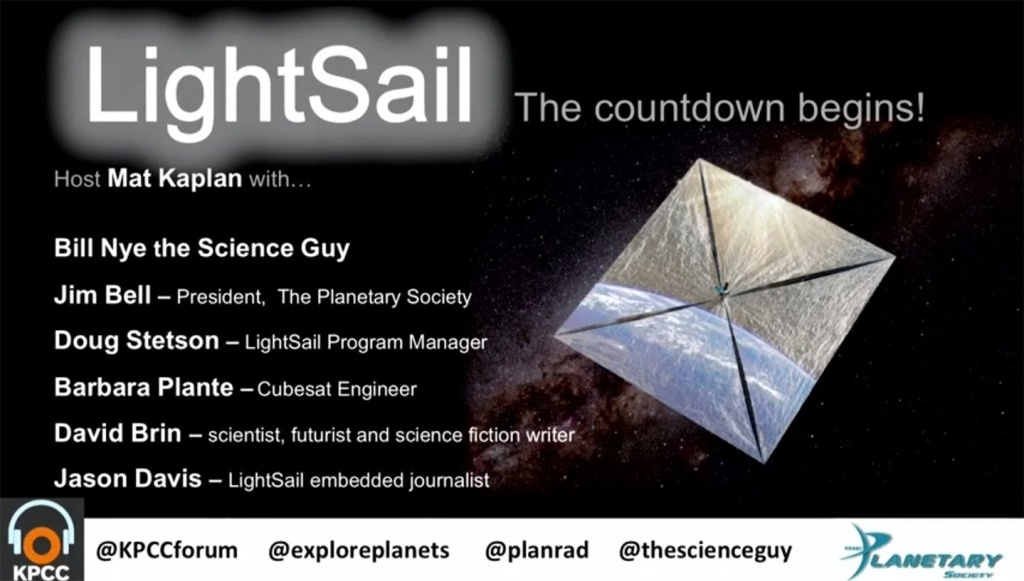 The Planetary Society returns to the Crawford Family Forum with an evening devoted to the revolutionary potential of solar sailing. It has been called the only practical way to reach the stars, but driving spacecraft across the solar system with the pressure of sunlight may offer big advantages over traditional rocket engines.
