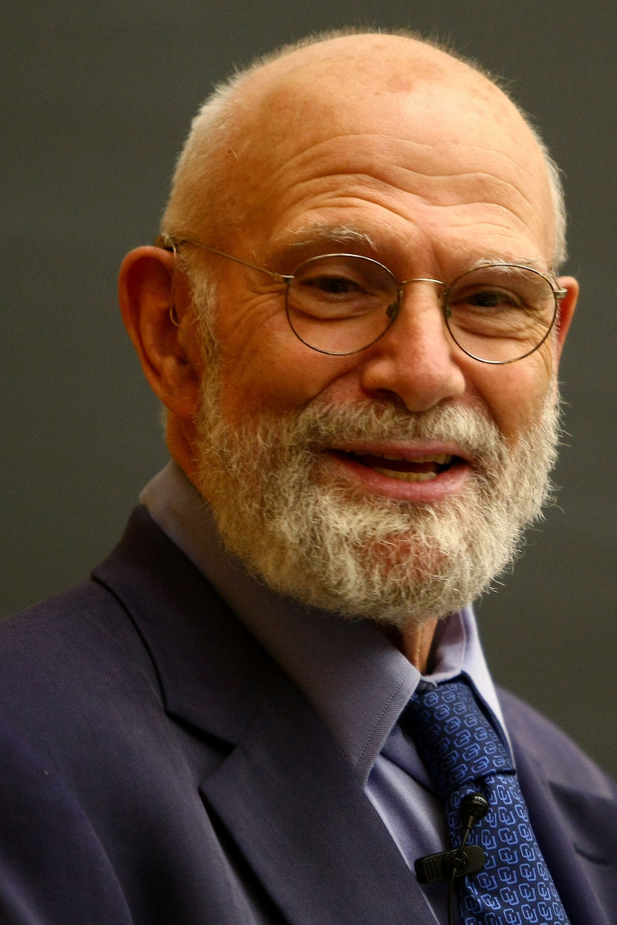 Neurologist Dr. Oliver Sacks speaks at Columbia University June 3, 2009 in New York City. Dr. Sacks, who was appointed Professor of Neurology and Psychiatry at Columbia University Medical Center in 2007, was the author of several bestselling books. He died Aug. 30, 2015. His 1973 book