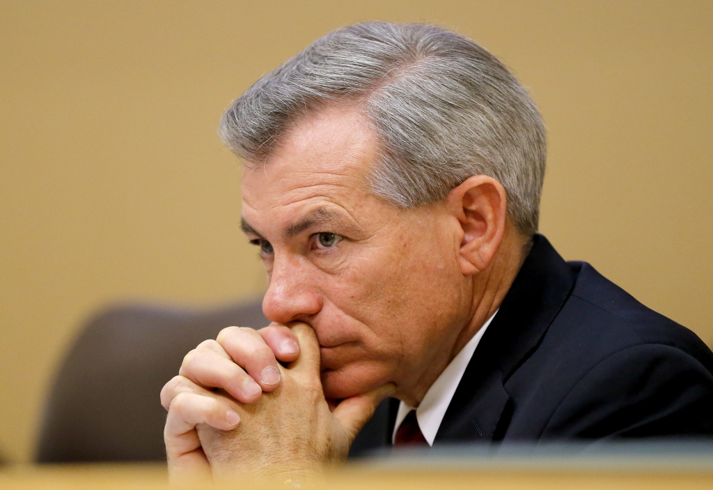 Rep. David Schweikert, R-Ariz., seen here during a hearing in 2013, was ordered by the House Ethics Committee to pay a $50,000 fine for violating ethics rules.