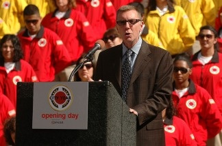 Likely incoming LAUSD Superintendent, John Deasy.