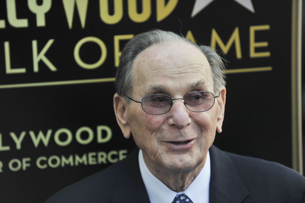 Hal David is honored with a Star in celebration of his career and 90th birthday on October 14, 2011 in Hollywood, California.