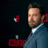 "Actor Ben Affleck attends the premiere of Warner Bros Pictures' ""The Accountant"" at TCL Chinese Theatre on October 10, 2016 in Hollywood, California."