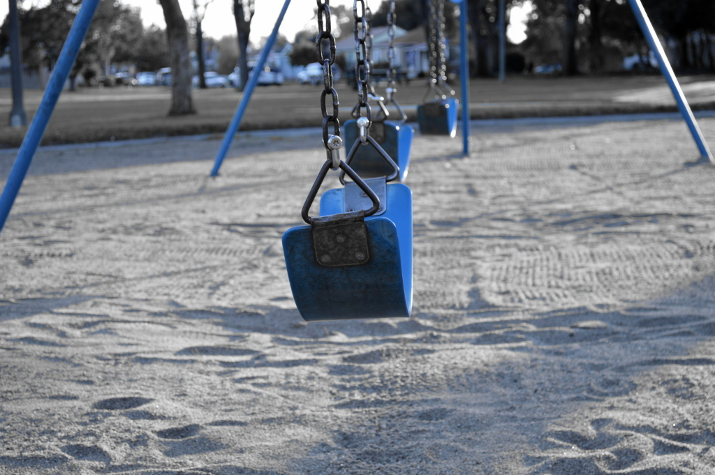 File photo of an empty playground.