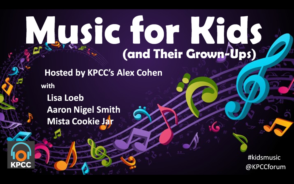 Three Los Angeles-based artists—Lisa Loeb, Aaron Nigel Smith, and Mista Cookie Jar (aka C.J. Pizarro)—gave us their interpretation of what kids' music should sound like. And believe it or not, you might like it too.