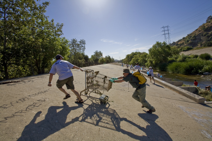 LA River Clean up