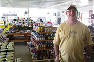 Mark Goulet, the General Manager of Shields Date Gardens, says dates are