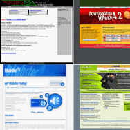 Combo Picture Of Popular File Sharing Websites