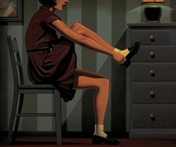 Six P.M. by Kenton Nelson