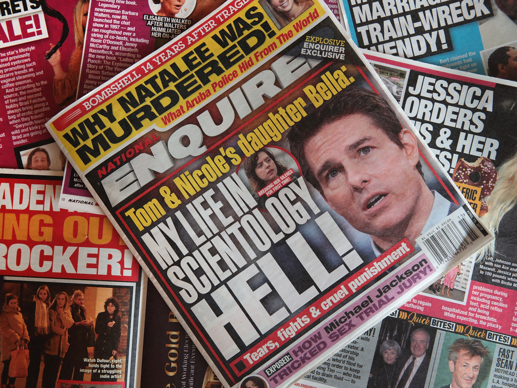 American Media Inc., parent company of the <em>National Enquirer</em>, struck a deal to sell the tabloid and two other publications.