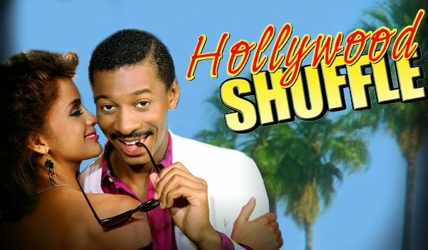 Key art from the 1987 film, Hollywood Shuffle.