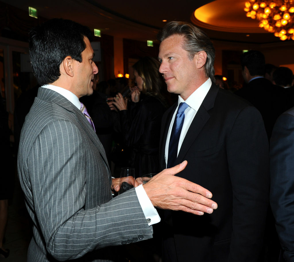 Ross Levinsohn at the Beverly Hills Hotel in 2011. The former Yahoo interim CEO was just named non-interim CEO of Guggenheim Digital Media.
