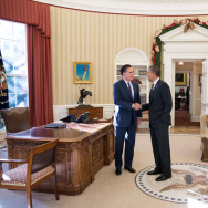 Romney Meets With Obama For Lunch At White House