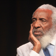 Dick Gregory, known for his sharp commentary on race relations during the 1960s civil rights movement, was considered a pioneer in using satire to address social issues.