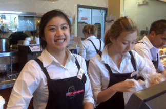 Manager Stephanie Peng says of the American version of 85C coffee,