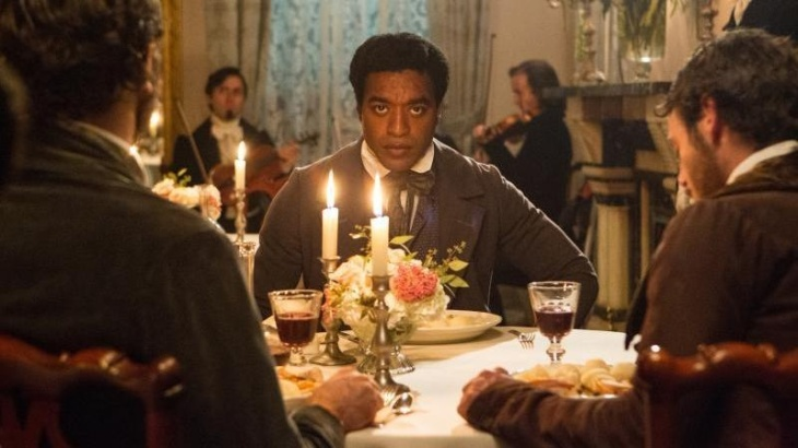 In the new film adaptation of Twelve Years A Slave, Chiwetel Ejiofor plays Solomon Northup, a black man who was kidnapped and sold into slavery in 1841.