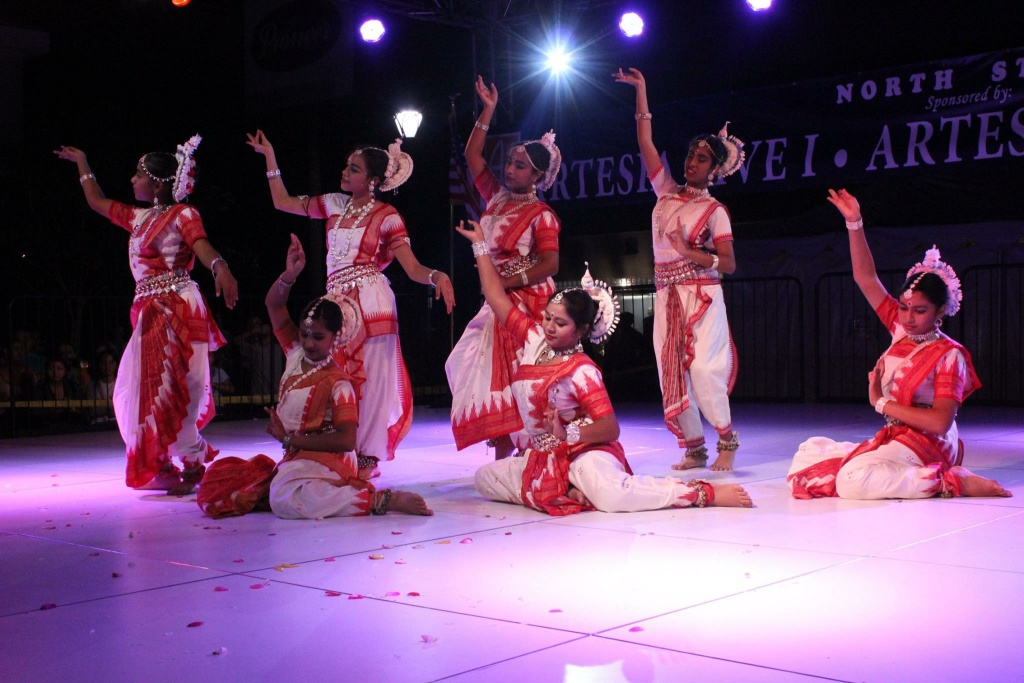 Dancers perform at one of the stages at last year's International Street Fair & Diversity Festival.