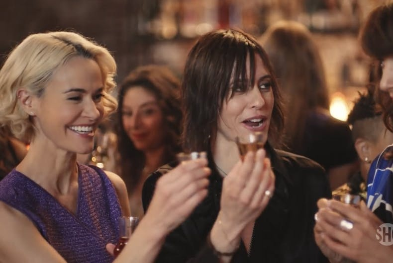 Leisha Hailey, left, and Kate Moenning star in Showtime's
