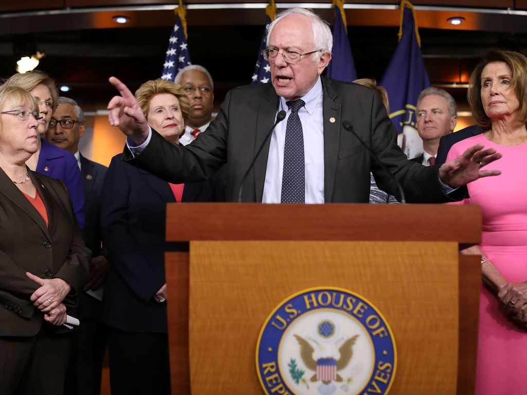Sen. Bernie Sanders (I-VT) told NPR,
