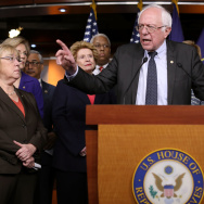 "Sen. Bernie Sanders (I-VT) told NPR, ""The goal is to rally the American people against a disastrous Republican proposal."""
