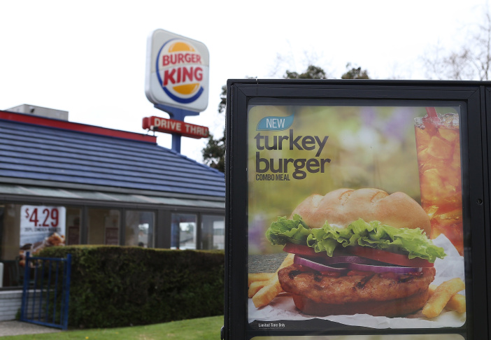 Burger King Introduces Turkey Burgers
