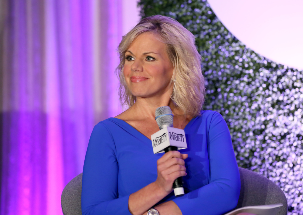 Gretchen Carlson speaks onstage. The former Fox co-host will be paid $20 million by Fox to settle her sexual harassment suit against Roger Ailes.